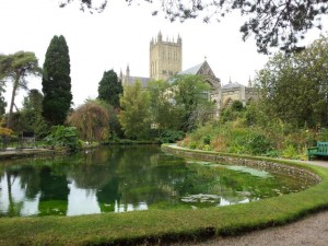 Bishops Palace, Wells and one of the Natural Springs