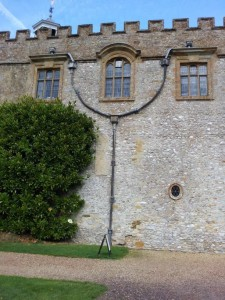Forde Abbey and a nice bit of Leadwork