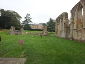 Glastonbury Abbey and King Arthurs burial